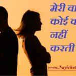 मेरी पत्नी कोई काम नहीं करती ! My Wife Does Not Work In Hindi
