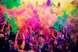 Holi Festival in Hindi
