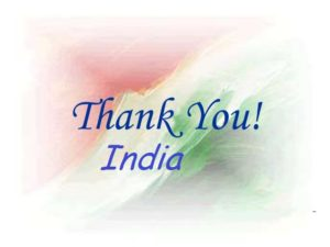 """THANK YOU INDIa, My Country India,  Proud Be Indian In Hindi"