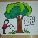 पेड़ लगाओ - जीवन बचाओ, Save Tree Poetry In Hindi , ped bachao, save tree in hindi, tree bachaao, save tree slogan in hindi, nayichetana.com, jungle bachaye