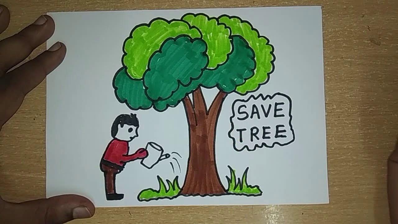 पेड़ लगाओ - जीवन बचाओ, Save Tree Poetry In Hindi , ped bachao, save tree in hindi, tree bachaao, save tree slogan in hindi, nayichetana.com, jungle bachaye