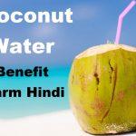 नारियल पानी पीने के 7 फायदे व नुकसान, Coconut Water Benefit Harm In Hindi,coconut water ke faayde,health benefit of coconut,nayichetana.com