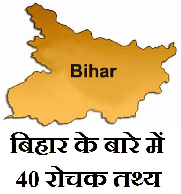 बिहार के बारे में 40 बेहतरीन रोचक तथ्य, 40 Amazing Facts About Bihar In Hindi, Facts On Bihar In HIndi,bihar par rochak tathay,bihar in hindi